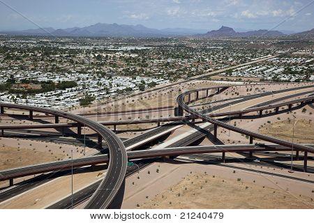 East Mesa Freeway Interchange