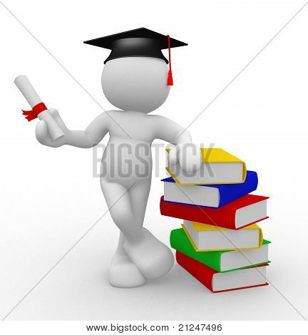 Graduation And Books