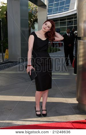 LOS ANGELES - JUN 21:  Alexandra Breckenridge arrives at the True Blood Season 4 Premiere at ArcLight Theater on June 21, 2011 in Los Angeles, CA