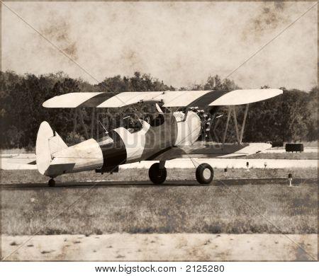 Vintage Biplane