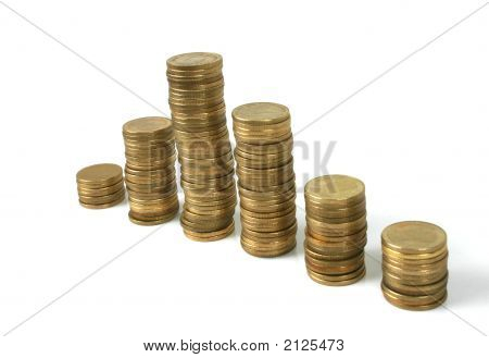 Stacked Coins (Series)