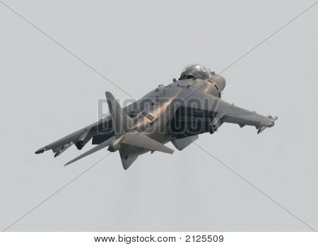 Usmc Av-8B Harrier Ii - Rear