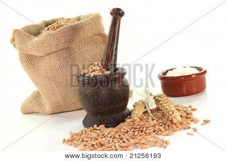 Mortar With Grain