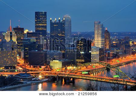 Skyline de Pittsburgh, Pensilvânia