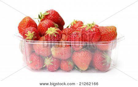 eine Schale Erdbeeren