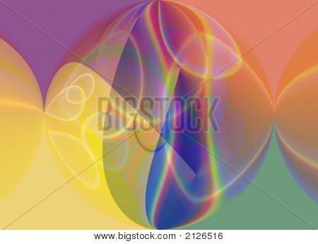 Arco iris redondo