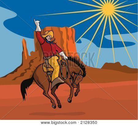 Rodeo Cowboy.