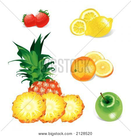 Fruits (Vector)