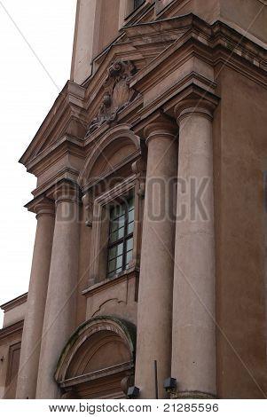 Academic Church In Torun, Poland.