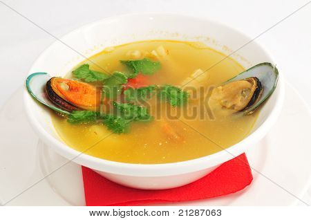 Soup from seafoode