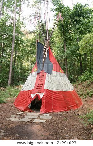 Plains Indian Tepee