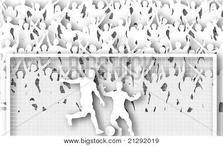 Penalty Kick Cutout