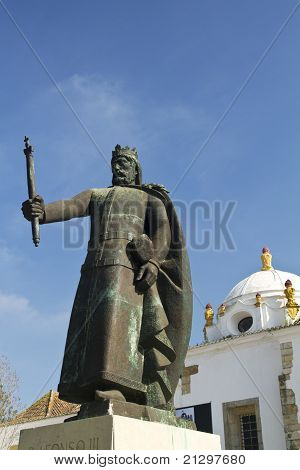 Statue Of D.afonso Iii
