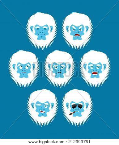 Yeti emoji set