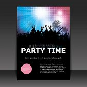 picture of beach party  - Flyer Design  - JPG