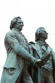 Goethe-Schiller-Monument poster