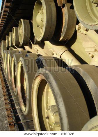 Tank Track & Wheels