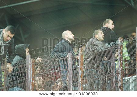 FC Dinamo Bucharest ultras supporter