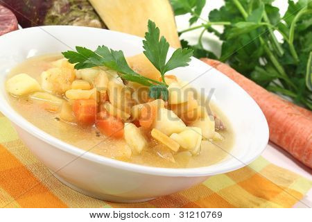 Fresh Cooked Swede Stew