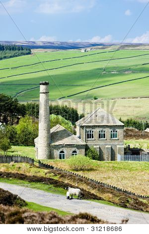 factory in The Pennines, Northumberland, England