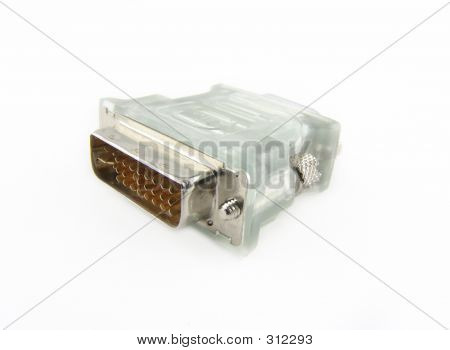 Dvi/d-sub Adapter For Lcd/crt Monitors