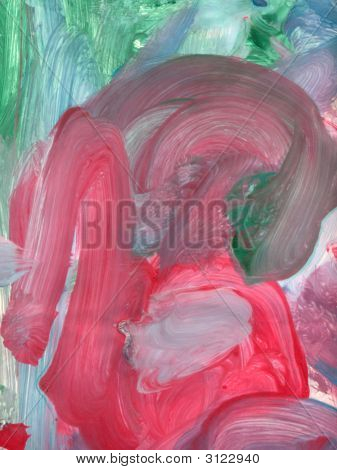 Finger Paint - The Scream?