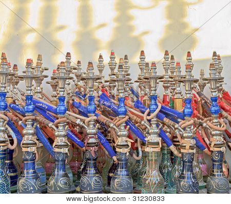 Colourful Sheesha Pipes