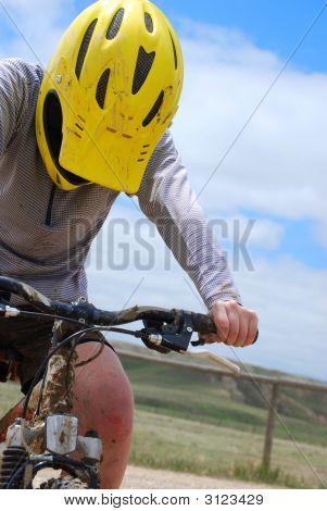 Mountain Bike Closeup