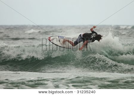 Coolangatta, Australia - Mar 03 : Quicksilver  Pro Asp World Tour, Matt Wilkinson During Expression