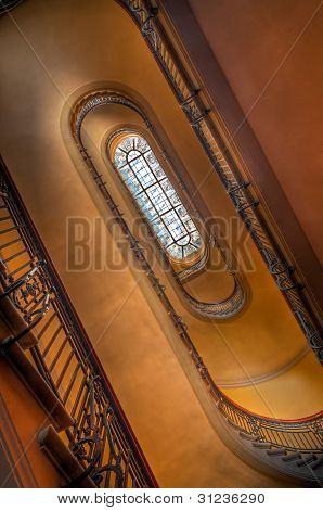 Up The Winding Staircase