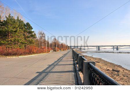 novosibirsk embankment