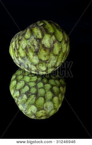 Custard apple reflection