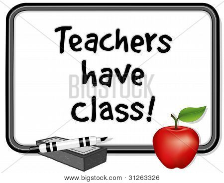 Teachers Have Class!