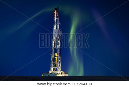 Drilling Rig Potash Mine