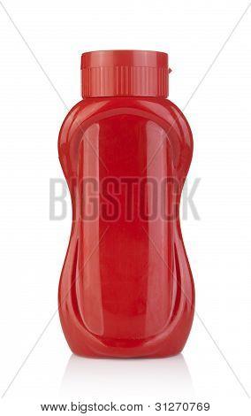 Plastic Ketchup Bottle