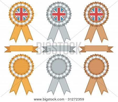 Uk Gold Silver And Bronze