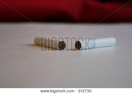 Cigarro quebrado