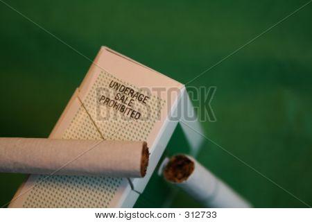 Underage Smoking On Green
