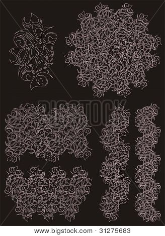 Lacy Pattern Background
