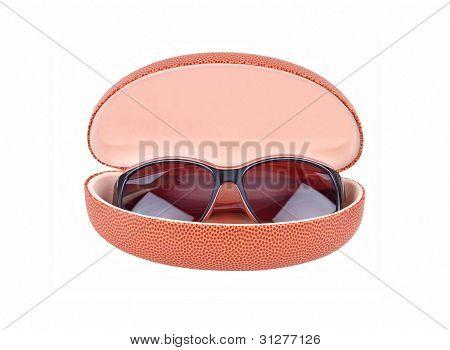 Sun-Gläser und Brillen-Fall