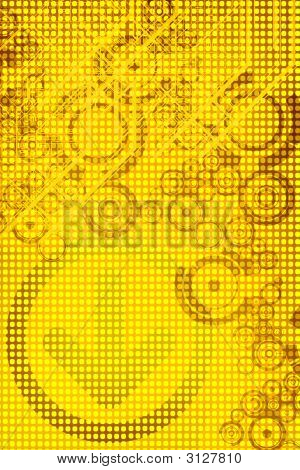 Yellow Tech Background