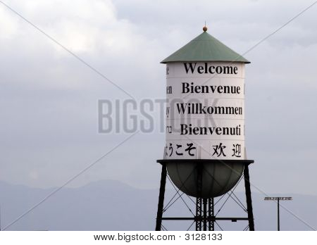 Welcoming Water Tower
