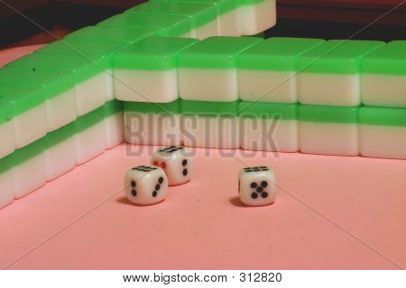 Three Dice 666