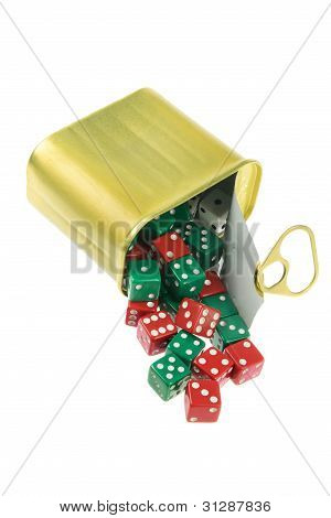 Dice In Can
