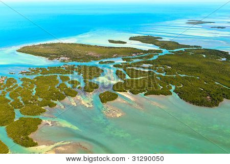 Florida Keys Aerial View