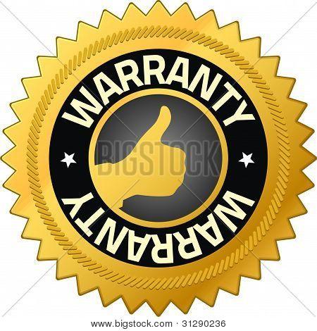 Warranty Guarantee Badges