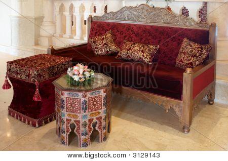 Altmodische Möbel-Set