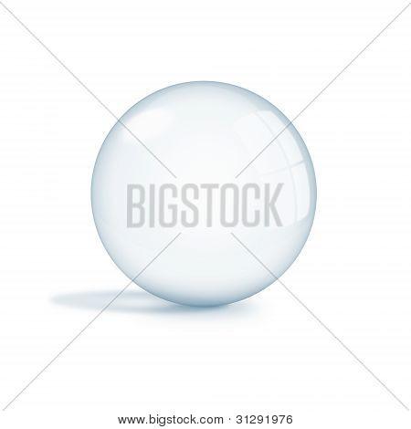 Empty Glass Sphere