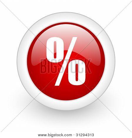 Ícone de porcentagem