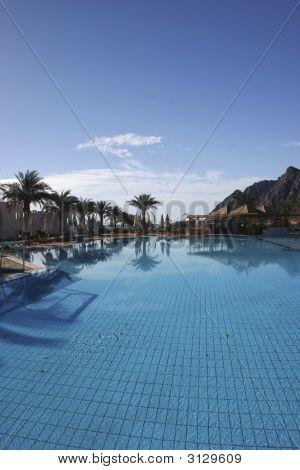 Resort Pool In Dahab Egypt